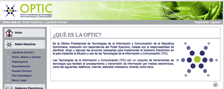 la optic y los estandares web