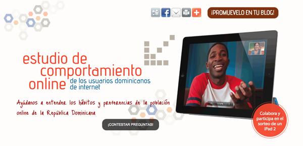 como se comporta el dominicano en internet